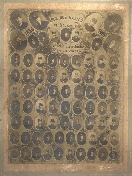 Členi SDH 1886